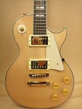 Haze E-238 Les Paul Custom Guitar Flame Maple-Mahogany + Vintage Tweed HARD Case