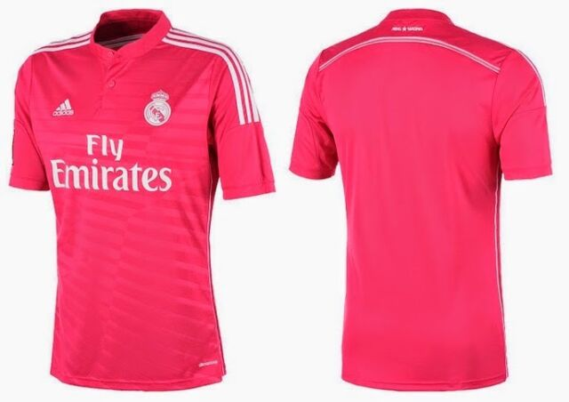 d9bbdf4ab adidas Real Madrid Spain Soccer Shirt Football Away 3rd Jersey Top ...