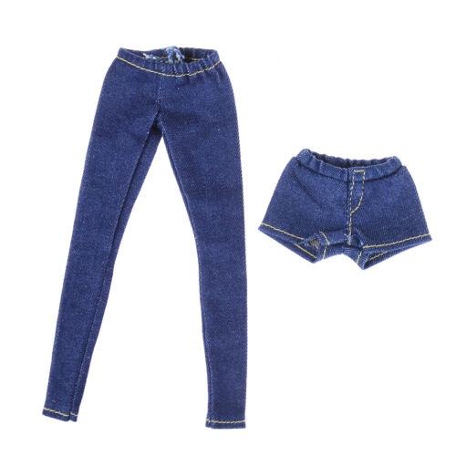 Elastic Jeans Trousers Long Pants Shorts For Blythe 1//6 BJD Dolls Accessory TSJB