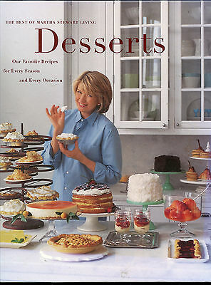 DESSERTS The Best of MARTHA STEWART LIVING  Cakes Cookies Pies Brownies and More