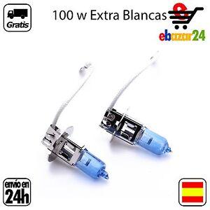2-BOMBILLAS-H3-12V-100W-BOMBILLA-LAMPARA-HALOGENA-EXTRA-BLANCO-Envio-GRATIS-des