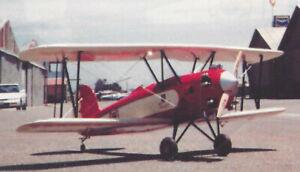 Instructions 80ws Giant Scale American WW-II Douglas A-20 Havoc Plans,Templates