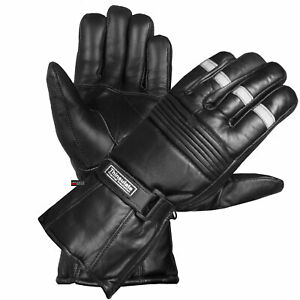 20-Winter-Men-Premium-Sheep-Leather-Motorcycle-Thinsulate-Gauntlet-Gloves