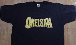 T-Shirt ORELSAN - France - T-Shirt ORELSAN Noir, manches courtesCoton (Marque t-shirt homme : Fruit of the Loom) Neuf (Disponible en modle homme ou femme) Guide Taille HommeTailleSMLXLXXLLargeur (cm)4651576166Longueur (cm)6872757881 N'hésitez pas me contacter pour toute i - France