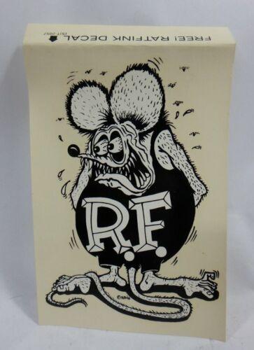 MINT 100/% ORIGINAL VINTAGE 1963 RAT FINK ED ROTH VITACHROME DECAL
