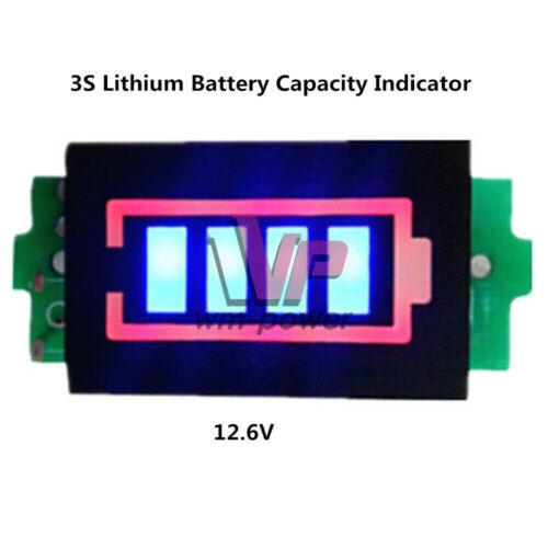 1 S 2 S 3 S 4 S 6 S 7 S Batterie au lithium capacité indicateur Module Li-Ion Power Testeur