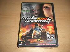 AUTO ASSAULT Pc DVD Rom MMOG - Online game - NEW & SEALED - FAST DISPATCH
