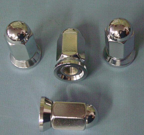 32 Lug Nuts 8 Lug 9/16 X18 Dually For Alcoa Wheels Ford Dodge Chevy Truck 7609