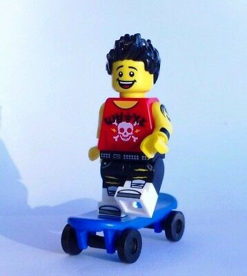 CUSTOM 100/% LEGO TROPICAL BLUE HAWAII ACAPULCO ELVIS PRESLEY w MARACAS /& stand