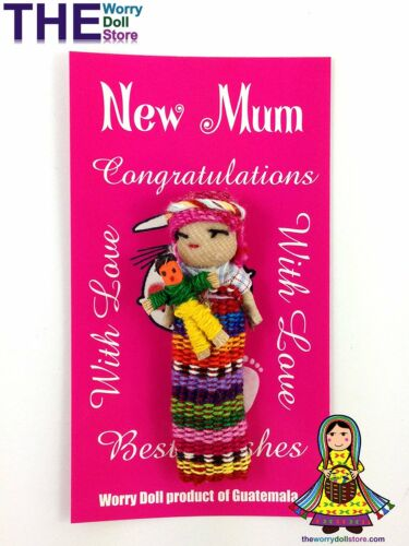 New Worry Dolls New Mum Doll