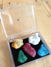 MINI BRIGHT QUARTZ CRYSTAL GEODE PIECES GIFT GEMSTONES NEW AGE HEALING REIKI