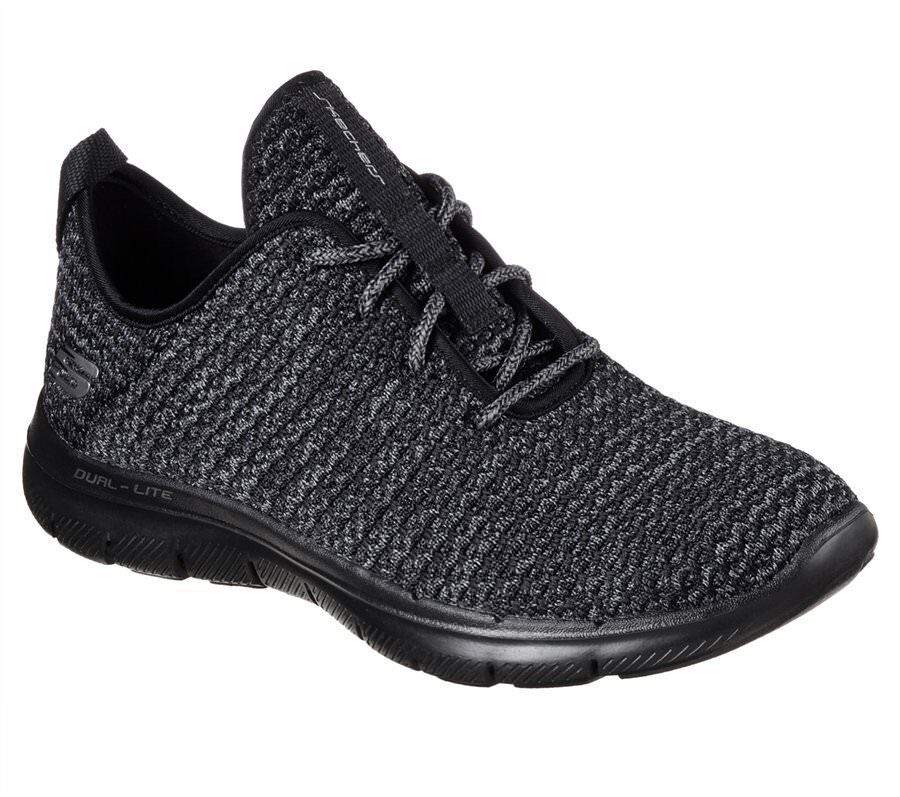 Womens Skechers Flex Appeal 2.0 - Bold Move BKCC #BR 12773