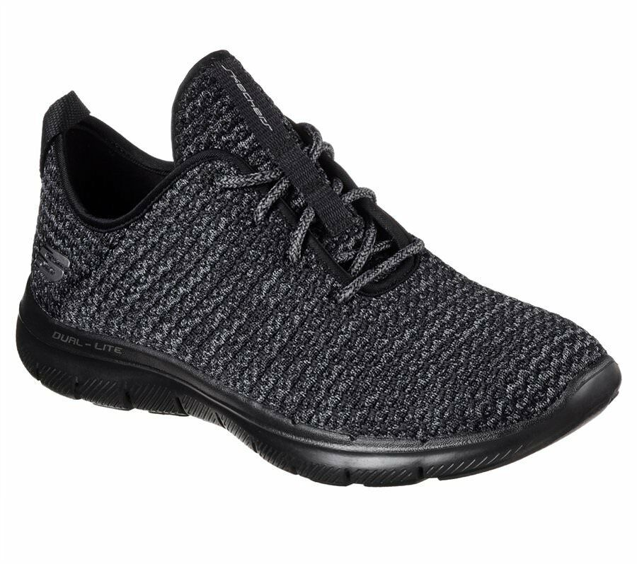 Damenschuhe Skechers Flex Appeal 2.0 - Bold Move BKCC #BR 12773