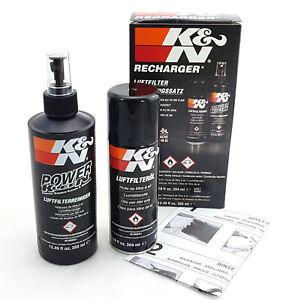 99-5003EU-K-amp-N-Filter-Reinigungssatz-Spruehdose-Ol-Flasche-Reiniger-Reinigungsa