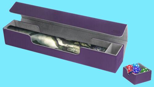 Ultimate Guard Flip N plateau Mat Case XenoSkin Violet Game Playmat Boîte de rangement MTG