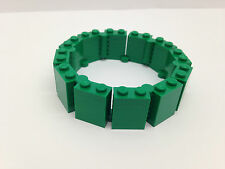 LEGO  - NEW Custom Build Green Bracelet
