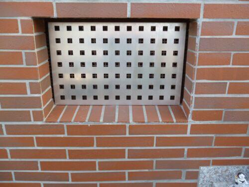 Kellerfenster Gitter Nagerschutz  Alulochblech