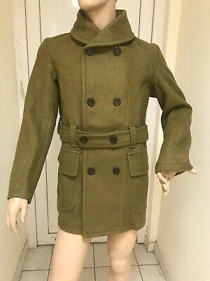 Us Wwi Pattern Mackinaw Short Overcoat, Ww1 Trench Coat Pattern