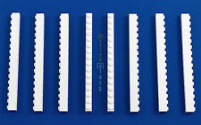 8x LEGO® 1x16 Stein 2465 weiß white basic basis Baustein NEU