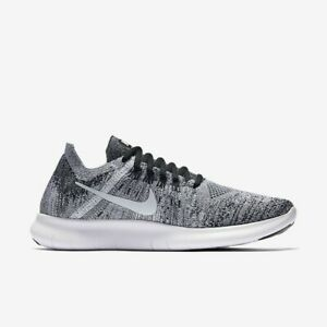 dostępny najtańszy nowe wydanie Details about Wmns Nike Free RN Flyknit 2 Oreo UK 6 EUR 40 ~ White Black  880844 003