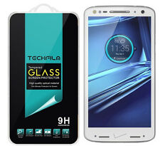 TechFilm® Tempered Glass Screen Protector Saver For Motorola Droid Turbo 2
