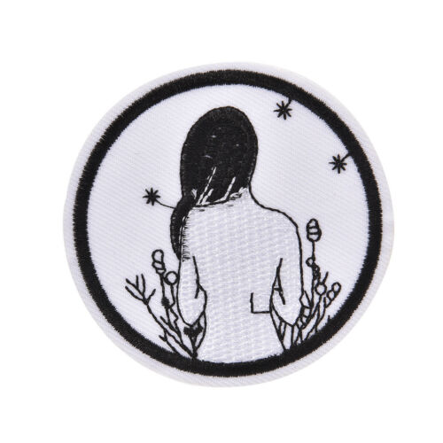 iron-on patch embroidery appliques badges for decorate clothing bag DIY applNWCA