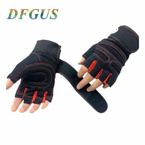 Fitness Weight Lifting Gloves Power Luvas Fitness Academia Anti-skid Guantes Pro