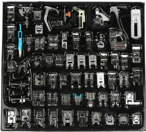Set di piedini professionali per macchina da cucire 62 pezzi