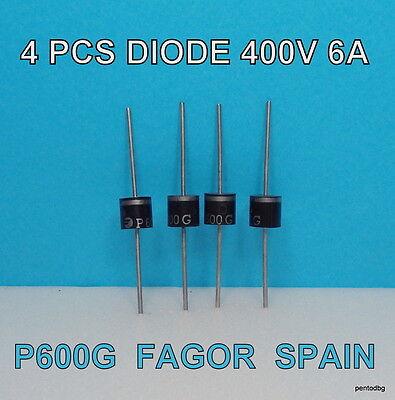 5PCS 6A4 6A 400V DIP Rectifier Diode