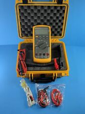 Fluke 87v Trms Multimeter Excellent Screen Protector Hard Case More