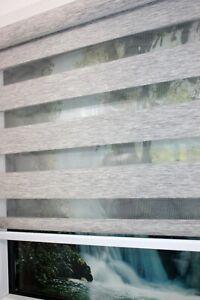 Doppelrollo-Klemmfix-ohne-Bohren-Duo-Rollo-Zebra-Seitenzug-Fenster-Klemm-Rollo