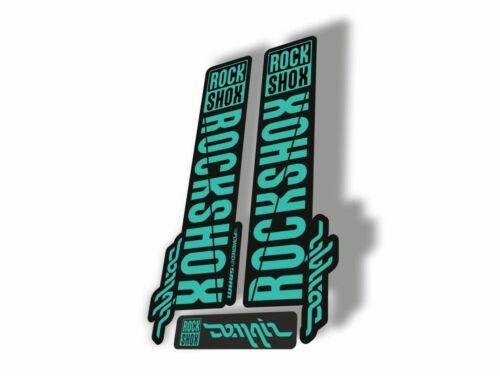 Rock Shox DOMAIN 2018 Fork Decal Mountain Bike Cycling Sticker Adhesive Dolphin