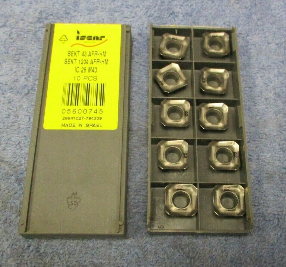 SPMT 100408R-HQ-M IC910 ISCAR *** 10 INSERTS *** FACTORY PACK ***
