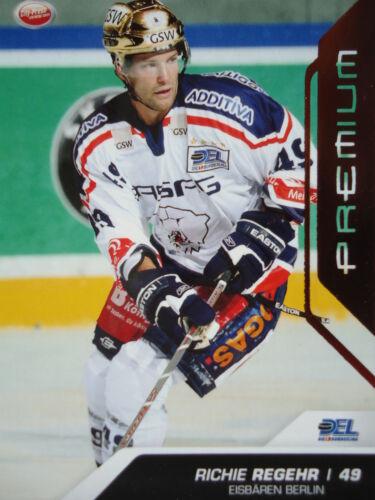 136 Richie Regehr osos polares berlín del 2009-10 premium bronce