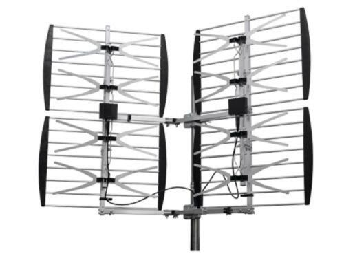 HEAVY DUTY  MULTI-DIRECTIONAL VHF UHF OUTDOOR HDTV HD TV ANTENNA 8BAY 8 BAY DTV
