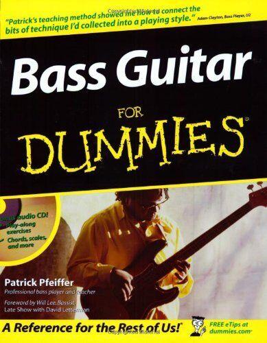 Bass Guitar For Dummies,Patrick Pfeiffer, Will Lee