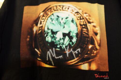 Diamond Supply Co Matt Kemp Autograph Signed Shirt