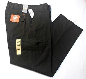Men-039-s-Dockers-Crossover-D3-Classic-Fit-Flat-Front-Cargo-Pants-Frontier-Brown