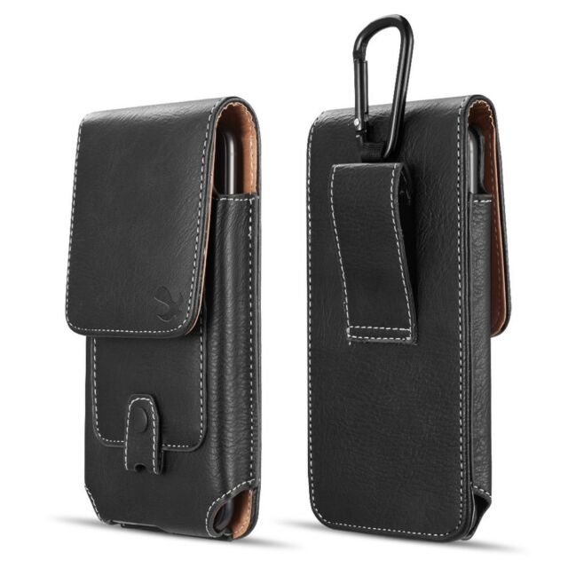 size 40 8dd4f efd40 iPhone XS Max / XR Belt Clip Case Vertical Phone Holster Carrying Pouch  Cover