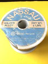 4.4 lb BELL SYSTEMS  NASSAU SOLDER 7076