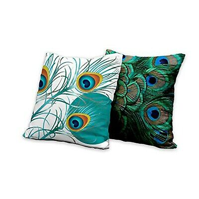 20 Throw Pillow Covers 20 X 20 Inch 2 Pcs Square Double Side Hd Printed Ebay