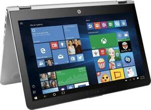 """HP Envy X360 2-in-1 15.6"""" FHD Touch Laptop i7-7500U 16GB Ram 1TB HDD W10 Backlit"""