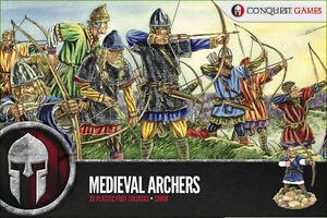 28mm Médiéval Archers - Conquête Jeux - Ère D'obscurité - Viking - Norman - Top PastèQues