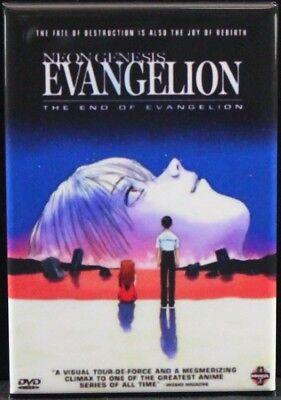 "Locker Magnet Neon Genesis Evangelion Movie Poster 2/"" X 3/"" Fridge Anime"