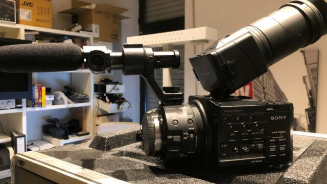 Sony NEX-FS100EK Full HD Professionel Caméscope Commerçant avec Objectif