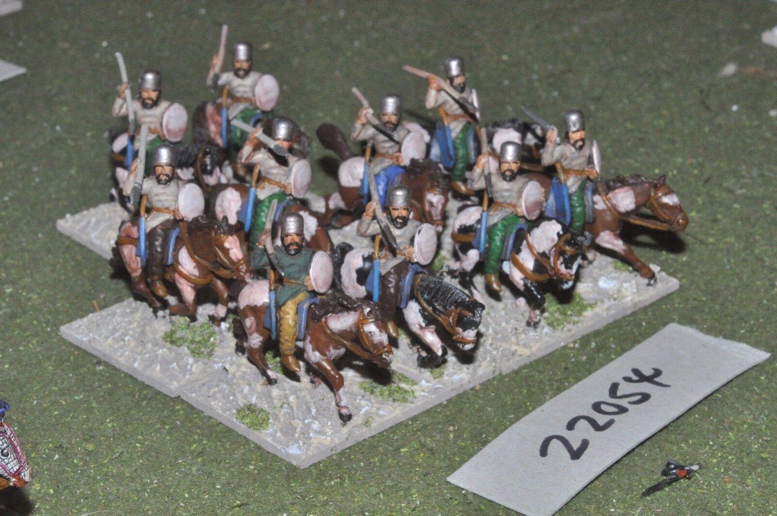 25mm roman era   sassanid - persian horse archers 10 figs cavalry - cav (22054)
