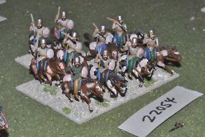 25mm Epoque Romaine / Sassanid - Cheval Persan Archers Cavalerie de Figues 10 Cav (22054)