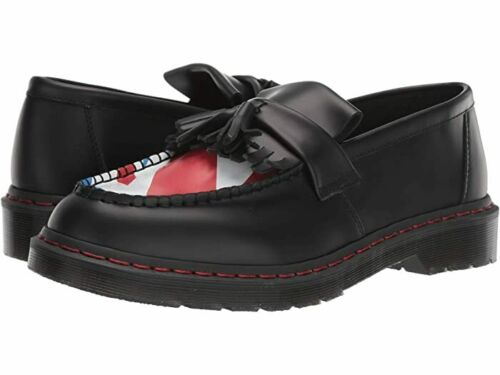 DR DOC MARTENS The Who Adrian Black Smooth Leather