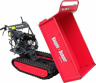 Raupentransporter Raupendumper Dumper Minidumper 18 Mit Dem Besten Service Business & Industrie Ausdauernd Powerpac Rd500r Pritsche
