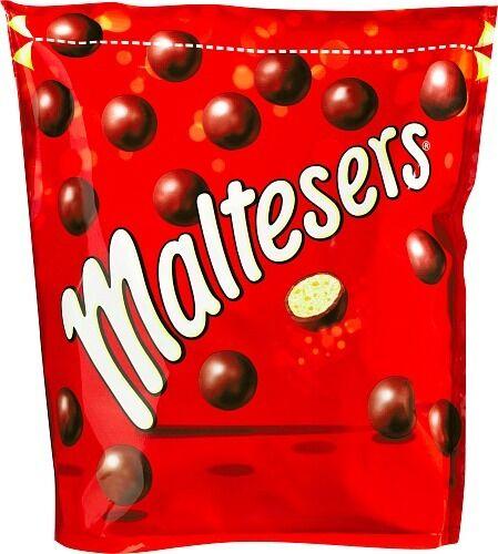 + Maltesers Pouch Chocolate Balls Bag 100 g ( 3.50 oz ) From Mars Nordics